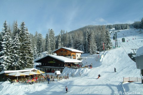 Foto Berghofalm im Winter